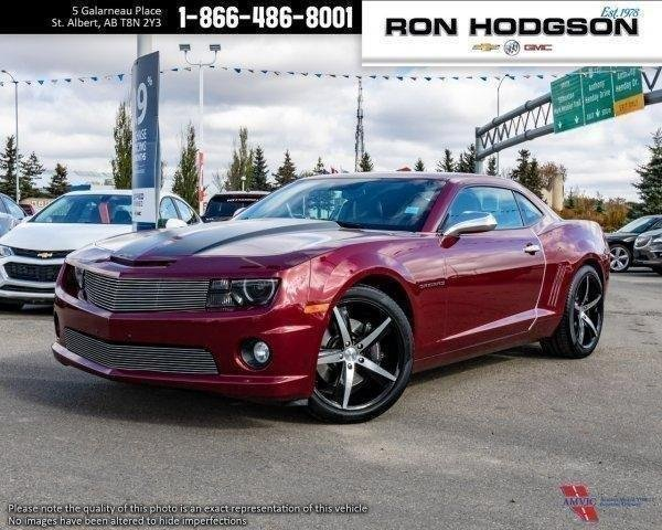 Certified Pre Owned 2010 Chevrolet Camaro 2SS MANUAL ROOF FUN CAR