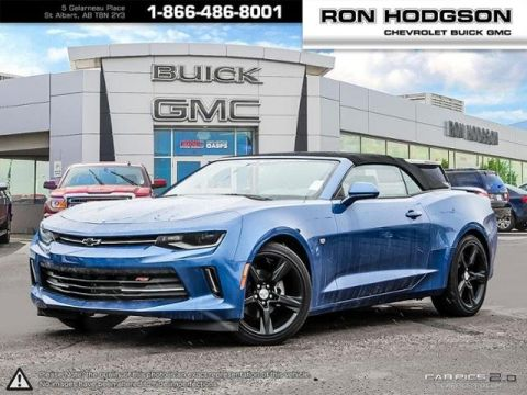 New 2017 Chevrolet Camaro LT RWD Convertible