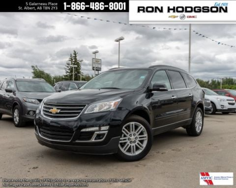 Pre-Owned 2015 Chevrolet Traverse LT LEATHER AWD 8 PASS